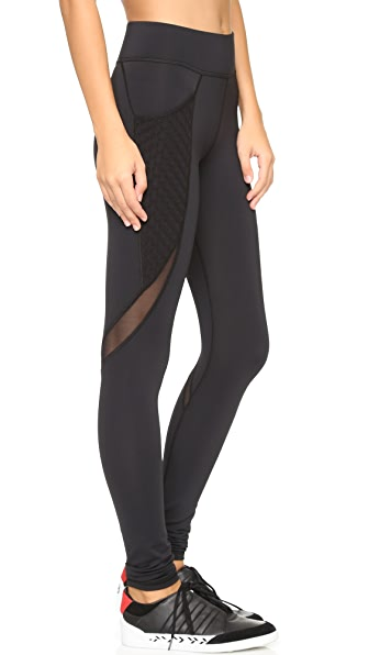 MICHI Storme Pocket Leggings - Black