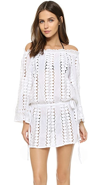 Miguelina Tabitha Beach Dress - Pure White