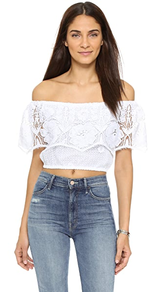 Miguelina Dakota Beach Blouse
