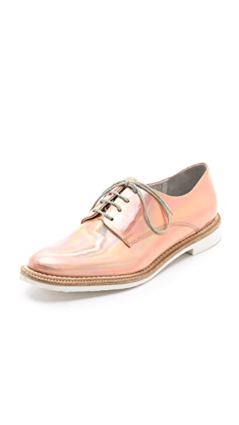 Miista Zoe Iridescent Oxfords