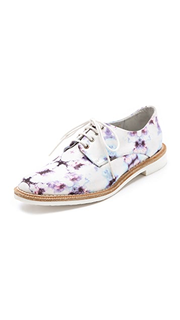 Miista Zoe Printed Oxfords