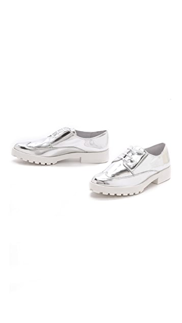 Miista Miley Metallic Oxfords