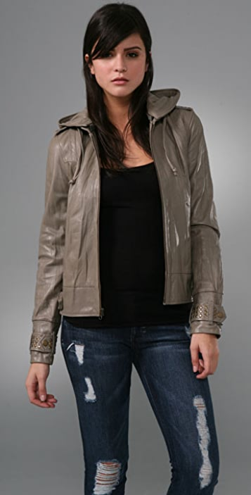 Mike & Chris Maguire Studded Leather Jacket