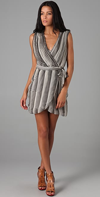 Mike Gonzalez Pilar Wrap Dress