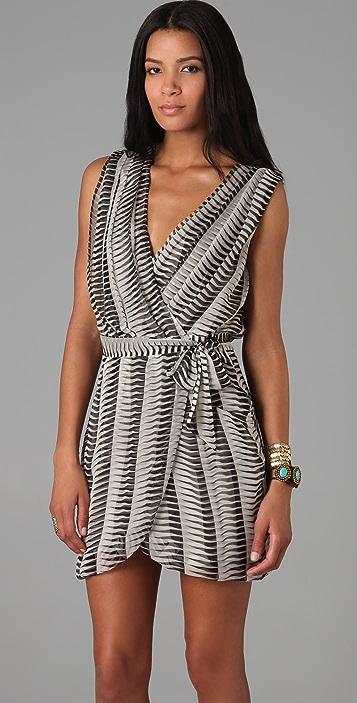Mike Gonzalez Pilar Wrap Dress