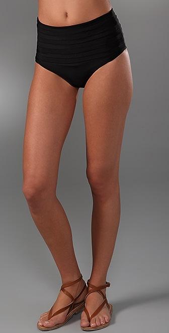 MIKOH Shikoku Banded Bikini Bottoms
