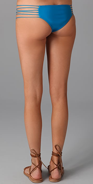 MIKOH Tortola String Side Bikini Bottoms