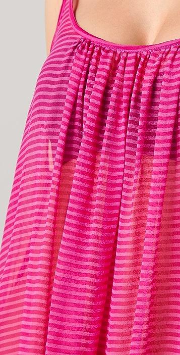 MIKOH Sardinia Long Silk Cover Up Dress