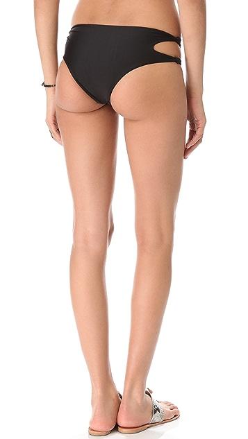 MIKOH Todos Santos Cutout Bikini Bottoms