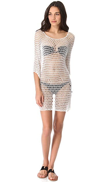 MIKOH Kandui Crochet Cover Up