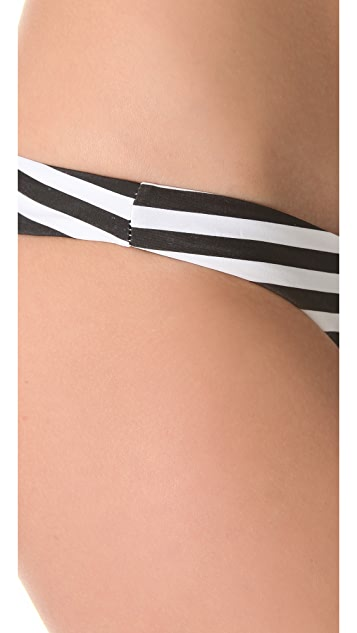 MIKOH Lahaina Extra Skimpy Bikini Bottoms