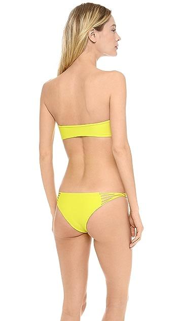 MIKOH Tulum Bandeau Bikini Top