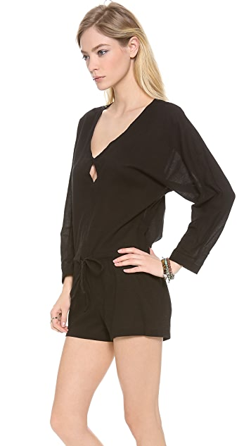 MIKOH Hawaii Long Sleeve Romper