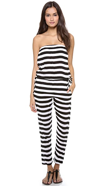 MIKOH Jamaica Strapless Jumpsuit