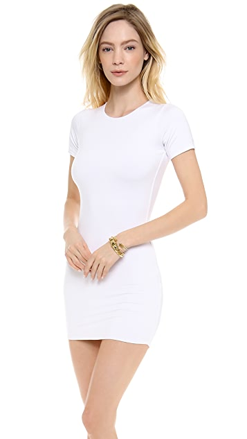 MIKOH Bermuda Mini Cover Up Dress