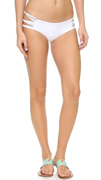 MIKOH Velzyland Skinny String Bikini Bottoms