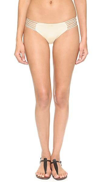 MIKOH Kapalua Bikini Bottoms In Bone