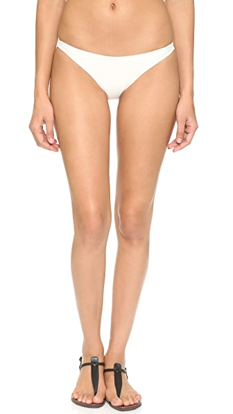 MIKOH Miyako Bikini Bottoms In Bone