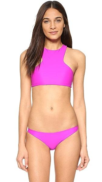 MIKOH Barbados Bikini Top