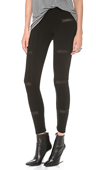 Mila Hermanovski Slice Leggings