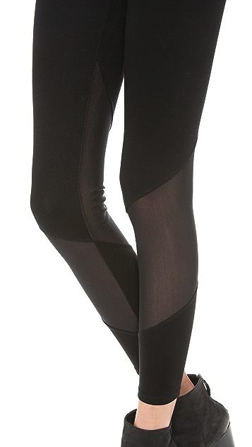 Mila Hermanovski Wrap Leggings