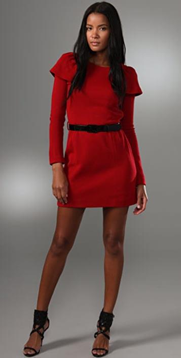 Milly Belted Mini Dress