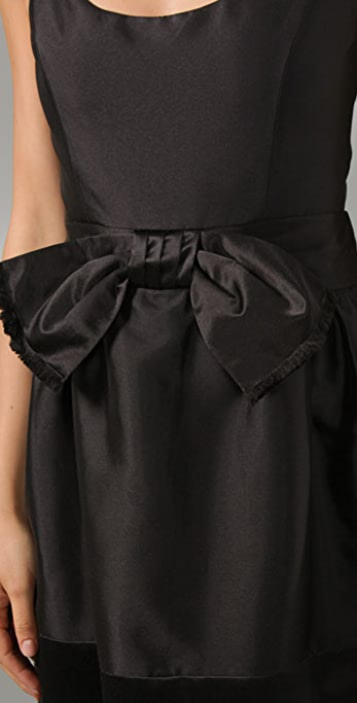 Milly Dominique Bow Dress