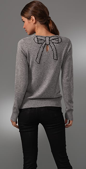 Milly Belle du Jour Beaded Sweater