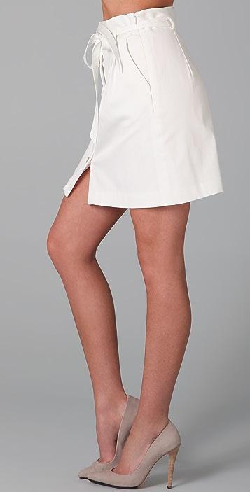 Milly Josie Belted Skirt