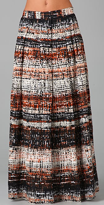 Milly Boho Long Skirt
