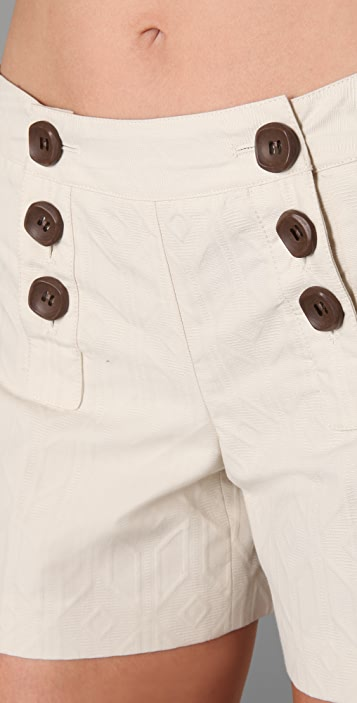 Milly Button Shorts