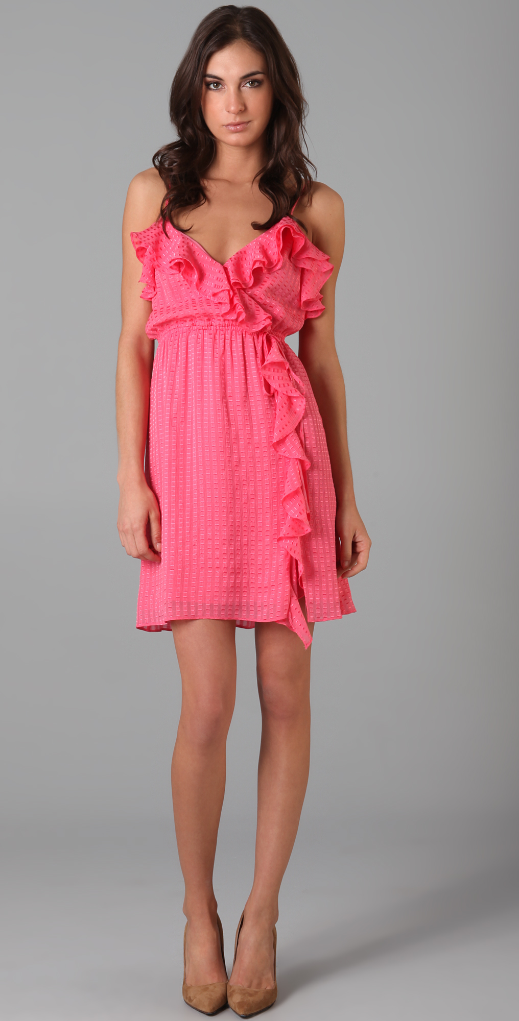Milly Stephanie Ruffle Dress | 15% off first app purchase with ...
