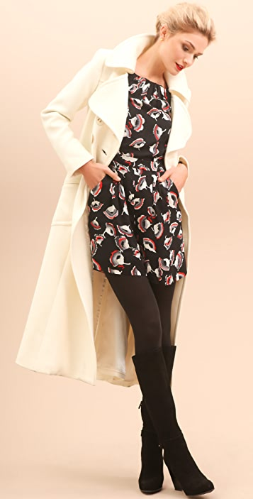 Milly Belted Marissa Maxi Coat