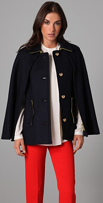 Milly Siennea Belted Cape