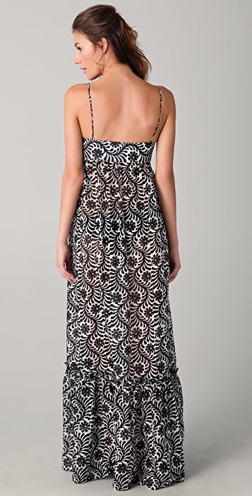 Milly Eden Roc Hostess Cover Up Dress