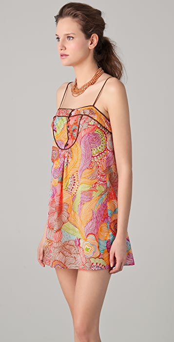 Milly Chenay Bay Cover Up Dress