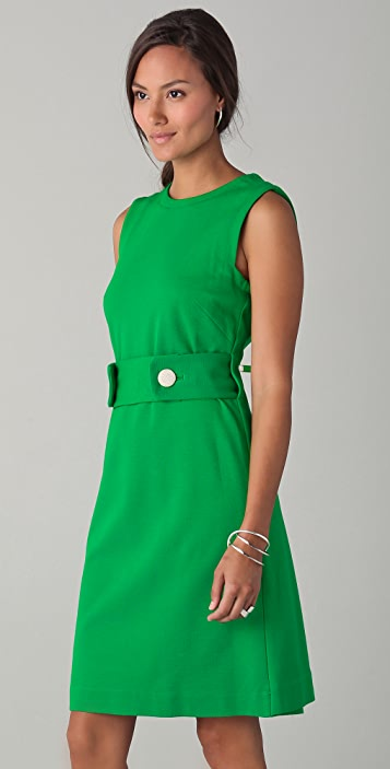 Milly Kristen Trapeze Back Dress