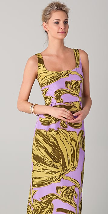 Milly Leslie Print Hostess Dress