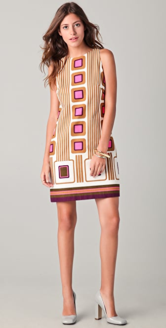 Milly Maggie Print Shift Dress