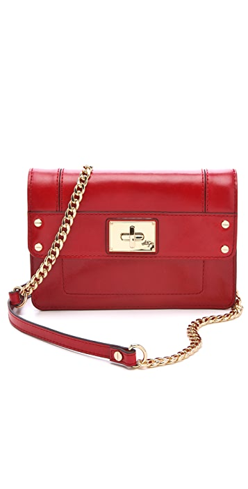 Milly Gabriella Luxe Leather Mini Bag