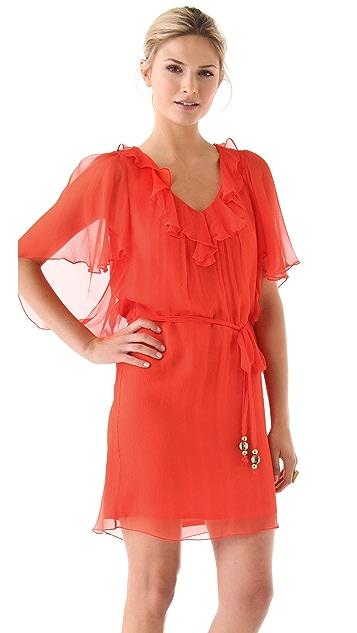 Milly Butterfly Sleeve Dress