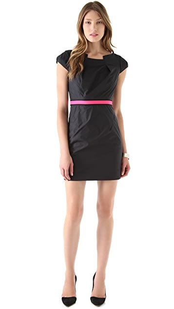 Milly Tech Nylon Sheath Dress