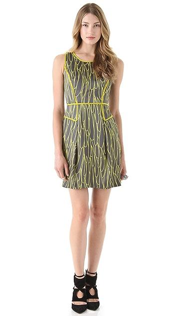Milly Ashton Combo Dress