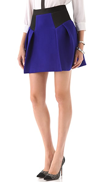 Milly Raquelle Flare Skirt