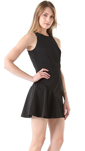 Milly Saxon Taffeta Dress