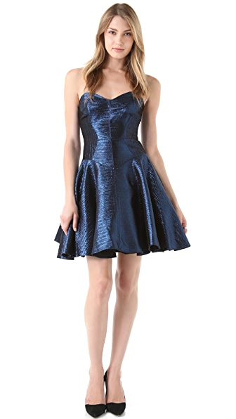Milly Lisa Strapless Dress