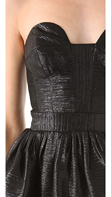 Milly Bree Peplum Dress