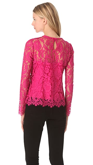 Milly Ivy Lace Blouse