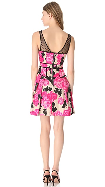 Milly Lanai Floral Dress
