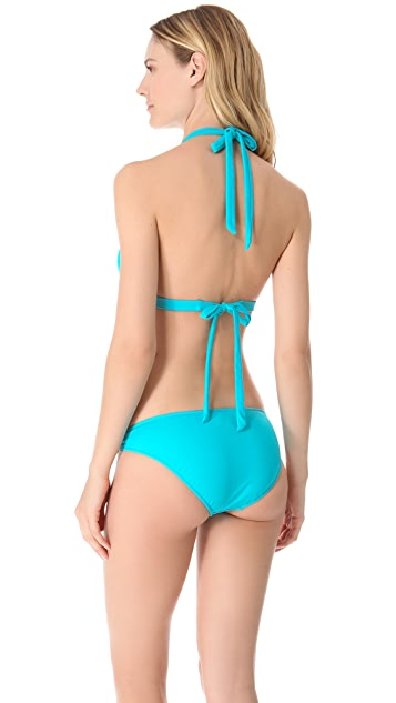 Milly Marigot Halter Bikini Top